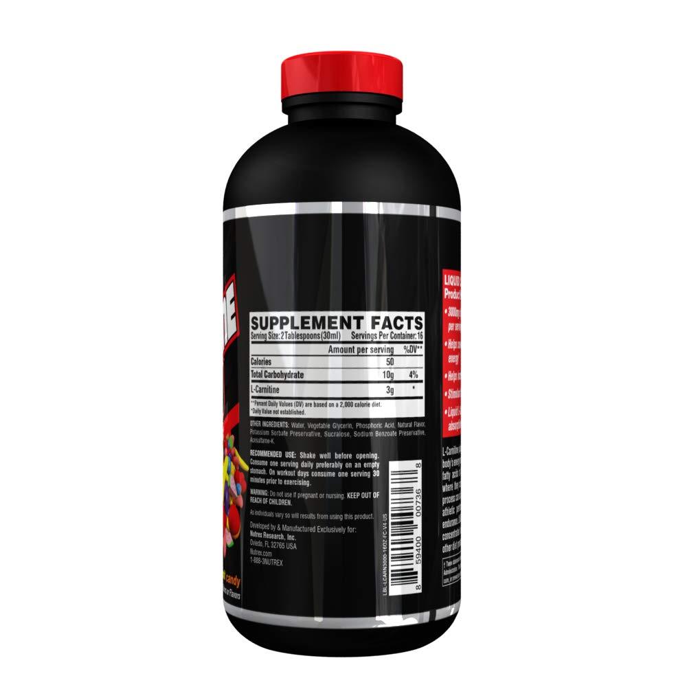 Amazon.com: Nutrex Research - Carnitina líquida de 3000 ...