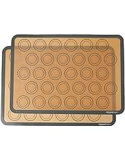 AmazonBasics siliconen macaron bakmat - tweedelige set