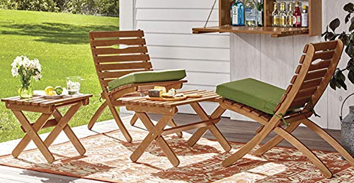 (Orvis Fold-Away Bistro Chair, Natural)