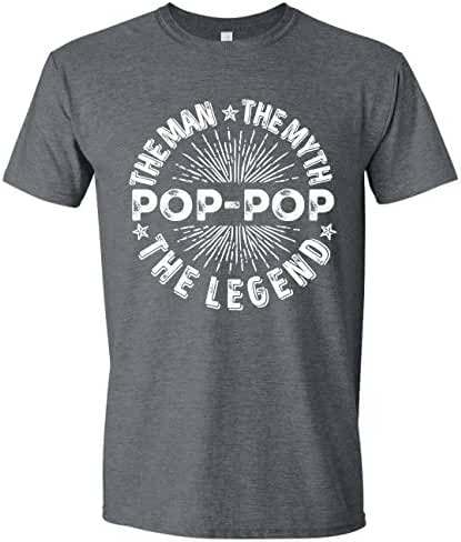 The Man The Myth The Legend Shirt, Shirts for Dad, Tshirt for Grandpa