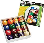 "Fat Cat 2-1/4"" Regulation Size Billiard/Pool Balls, Complete 16 Bal"