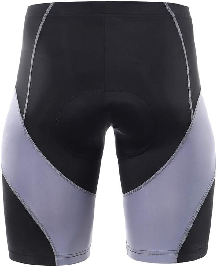 PQZATX Mens Cycling Shorts Padded Bicycle Riding Pants Bike Biking Clothes Cycle Wear Tights XL