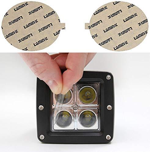 Lamin-x D108CL Fog Light Film Covers D108-2CL