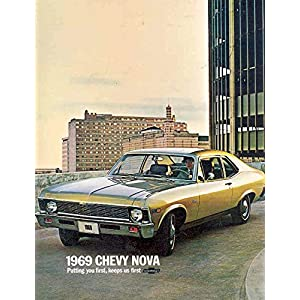 1969 Chevrolet Nova SS Sales Brochure