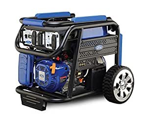 Ford FG9250E 7500 Watts Peak and 6000 Watts Rated 420cc Petrol Gasoline Powered Portable Generator, Blue