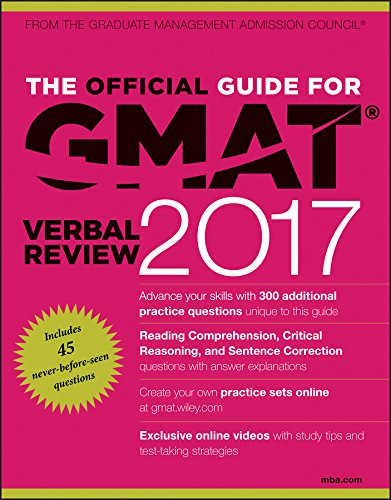 The Official Guide for GMAT Verbal Review (2017) [GMAC]