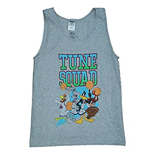 Space Jam Tune Squad Looney Tunes Gray Tank Top - X-Large