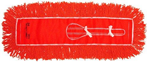 Golden Star AJU24CITO Jumbo Infinity Twist Dust Mop Head, 5'' x 24'', Orange (Pack of 12) by GoldenStar