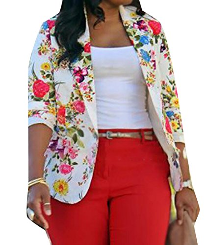 Review WANSHIYISHE Women's Casual Floral