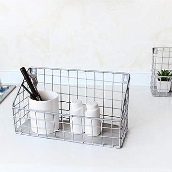 Küchen Metall Aufbewahrungskorb, Eisendraht Küche Ablagekorb ...