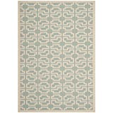 Safavieh Courtyard Collection CY6015-243 Blue and Beige Indoor/Outdoor Area Rug (8′ x 11′) Review