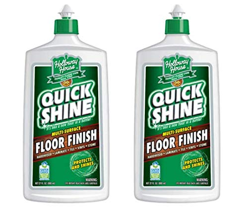Quick Shine Floor Finish, 27 fl oz (Pack of 2) (Quick Shine Floor)