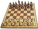 真鍮チェスセットfor Adults LargeチェスセットとボードチェスゲームピースCollectibleチェスボードゲームボード12` x12`手彫りの商品画像