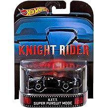 "K.I.T.T. Super Pursuit Mode ""Knight Rider"" Hot Wheels 2014 Retro Series Die Cast Vehicle"