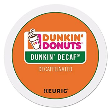 dunkin donuts decaf coffee kcups for keurig k cup brewers 24 count - K Cup Brewers