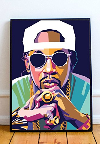 2 Chainz Limited Poster Artwork – Professional Wall Art Merchandise (More (8×10)