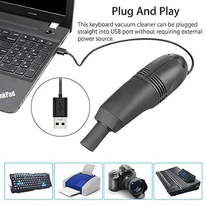 Mini PC Aspiradora PC Aspiradora PC Laptop Cepillo Kit de limpieza de polvo