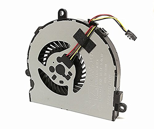 Replacement Cpu Cooling Fan for HP 250 G4 255 G4 Notebook 15-AC 15-AF Series, 4-Pin 4-Wire SPS 813946-001 by Dragon King (Image #1)