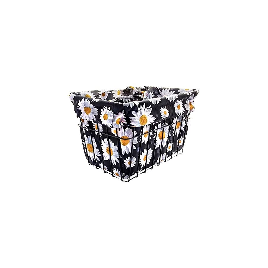 Cruiser Candy Love Daisy Bicycle Basket Liner