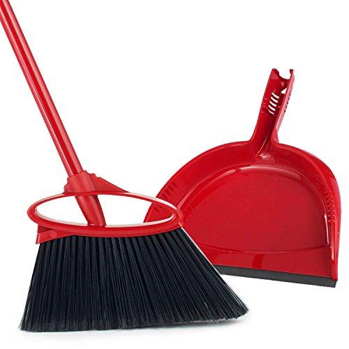 (O-Cedar Angler Angle Broom With Dust Pan)
