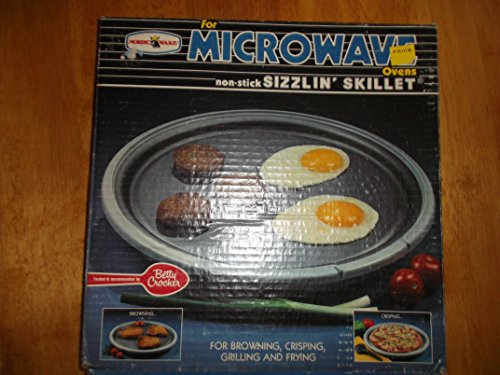 Non-stick Sizzlin Skillet for Microwave Ovens Nordic Ware