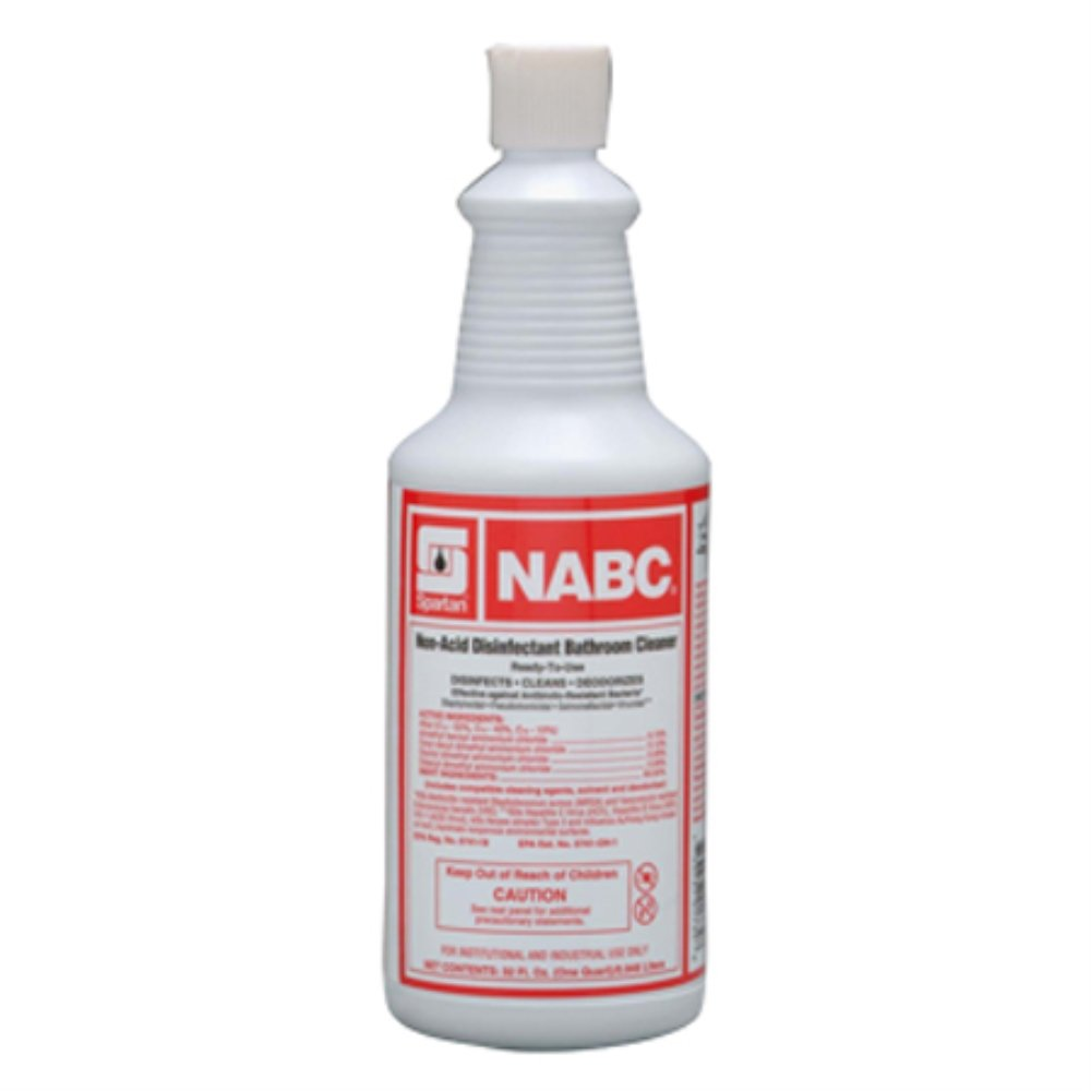 Spartan RTU NABC Bathroom Cleaner, Quarts, Case of 12