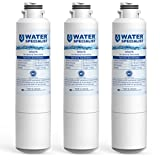 Waterspecialist DA29-00020B Refrigerator Water Filter, Replacement for Samsung HAF-CIN, HAF-CIN/EXP, DA29-00020A/B, DA97-08006A, RF28HMEDBSR, RF4287HARS, RF263TEAESG, RH22H9010SR (Pack of 3)
