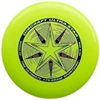 "Discraft Ultra Star 175g Ultimate Frisbee ""Starburst"" - giallo"