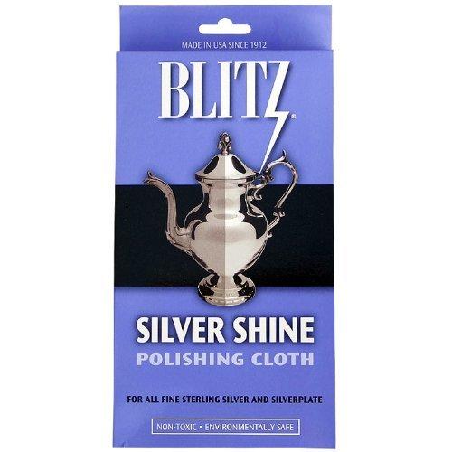 blitz silver polishing cloth - 5