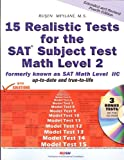 15 Realistic Tests for the SAT Subject Test Math Level 2, Rusen Meylani, 0974886874