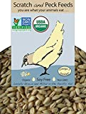 Organic, Non-GMO Project Verified, Naturally Free 3-Grain Scratch Hen Treat, 20lbs