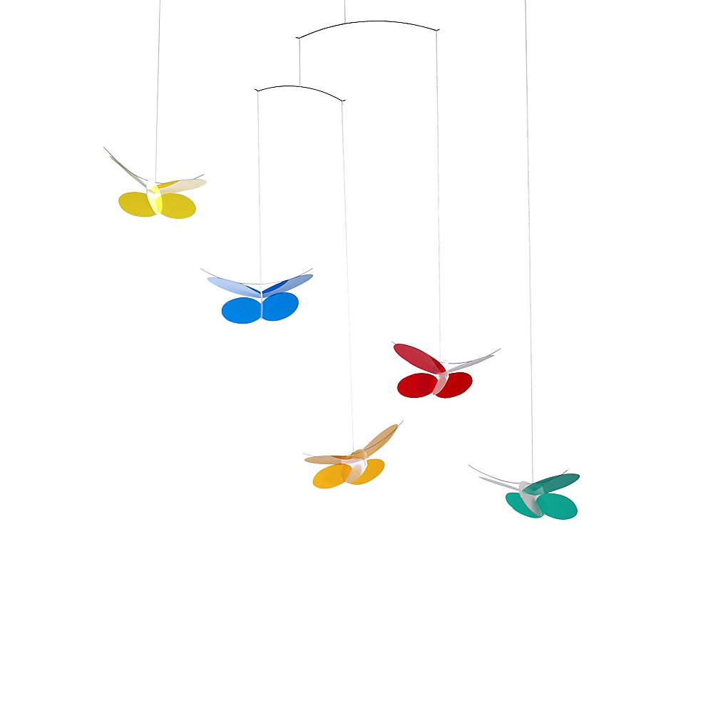 Flensted Mobile Farfalle, decorazione da appendere fatta a mano in Danimarca BabyCenter f30111