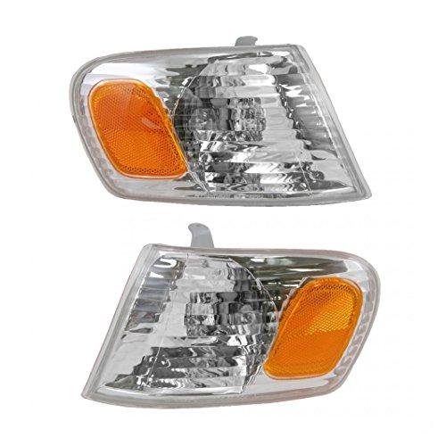 - Corner Parking Turn Signal Light Lamp Left & Right Pair Set for 01-02 Corolla
