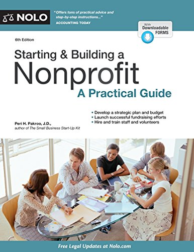 Book Cover: Starting & Building a Nonprofit: A Practical Guide