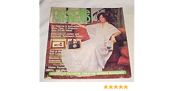 Needle Thread Creative Sewing And Craft Ideas May June 1982