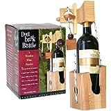 Don't Break The Bottle Wood Wine Carrier Puzzle Gift - Original