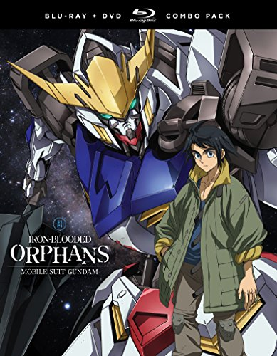 Mobile Suit Gundam  Iron Blooded Orphans   Season One  Part One  Blu Ray Dvd Combo