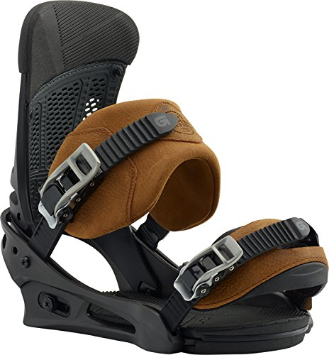 Burton Malavita Leather Snowboard Bindings Roughneck Sz L (10+) ()