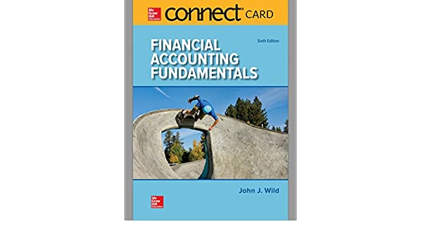 Connect access card for financial accounting fundamentals john j connect access card for financial accounting fundamentals john j wild 9781260004953 amazon books fandeluxe Gallery