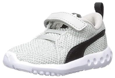 e83c430ecc86 PUMA Baby Carson 2 Sneaker Gray Violet Black