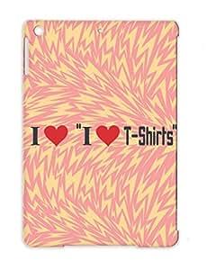 TPU I Love T Shirts Shirt Miscellaneous Tshirt Love I Heart Cooool Funny Humor Fun Cool Protective Case For Ipad Air Black Anti-drop