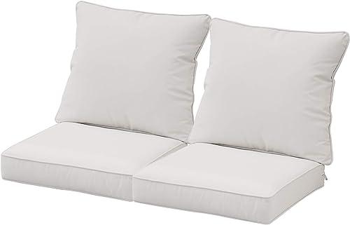 Best outdoor chair cushion: Aoodor 24 x 24 Patio Furniture Outdoor Deep Seat Single Chair Sofa and Back Cushion Olefin Fabric Slipcover Sponge Foam