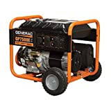 Generac 5943, 7500 Running Watts/9375 Starting Watts, Gas Powered Portable Generator, CARB Compliant (Discontinued by Manufacturer)