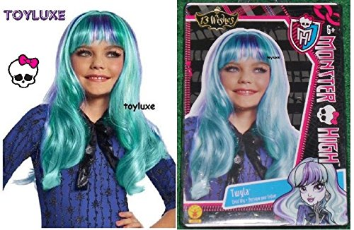 Monster High TWYLA 13 WISHES WIG Fashion Dress Up CHILD Halloween Costume Hair ! ^G#fbhre-h4 -
