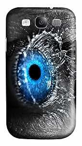 Eye Splash Custom Samsung Galaxy S3 I9300 Case Cover ¨C Polycarbonate