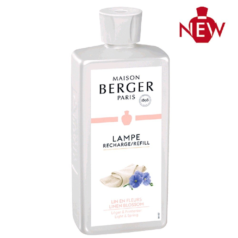 Lampe Berger Fleur de Lin 500ml
