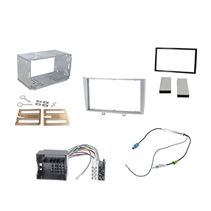 Admirable Amazon Com Peugeot 308 308 Cc Double Din Fitting Kit Fascia Car Wiring Database Plangelartorg
