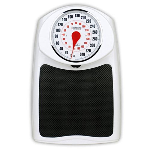 Detecto D350 ProHealth Personal Scale, 350 lbs Capacity by Detecto