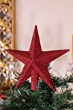 Clever Creations Gold Star Christmas Tree Topper