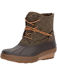 Women's Saltwater Wedge Tide Quilted Rain Boot